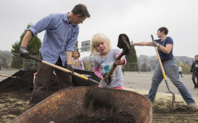 BRINGING NATURE TO THE SCHOOLYARD AT HAWTHORNE ELEMENTARY